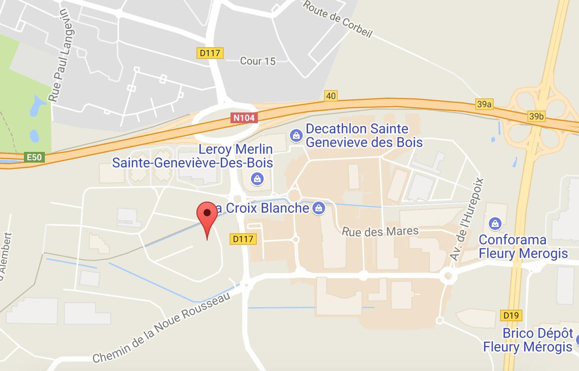 Acc s et horaires garage ambicion fiat fiat pro for Garage automobile sainte genevieve des bois